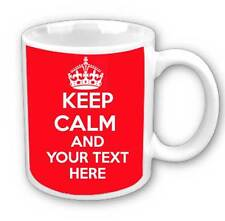 Keep calm and personalise your own mug