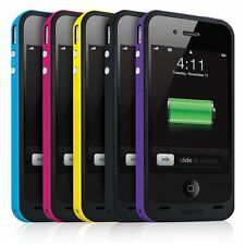 2000MAH EXTERNAL POWER BACKUP BATTERY PORTABLE CHARGER CASE FOR IPHONE 4 4G 4S