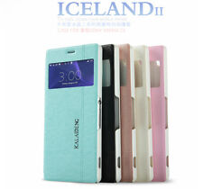 KLD Fashion Iceland Series PU Leather Cover Case Skin For Sony Xperia Z3 L55