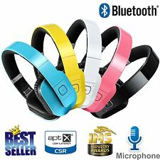 Bluetooth Headphone Wireless Headset Stereo Earphone for LG Samsung iPhone Beats