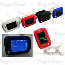 Digital Clip-on Backlight Guitar Bass Violin Chromatic Ukulele tuner 4 Color LOT