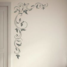Huge Floral Corner Flower Big Wall Transfer Large Flower Wall Sticker x21