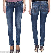 MISS SIXTY JEANS SHOCK Second Skin 24 27 28 29 30 32 34 Slim Fit denim washed