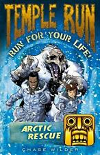 NEW Temple Run: Arctic Rescue by Chase Wilder Paperback Book Free Shipping