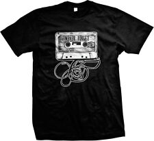 Never Forget Old School Audio Cassette Mix Tape 80's Music Mens T-shirt