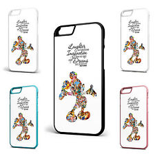 Walt Disney Quote Mickey Mouse Iphone 6+ 6 5c 5/5s 4/4s Hard Case Cover Cartoon