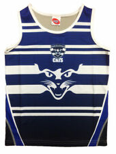 Geelong Cats AFL Footy Training Singlet Tank Top - Boys Youths Mens