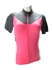 2XU Elite X Cycle Jersey - Women's Small - Charcoal/Synthetic Pink msrp$140