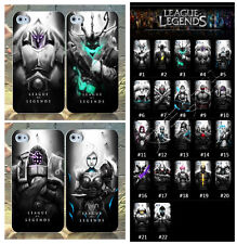 NEW SHOP !For iPhone 5/5S LOL Mobile Protecter Cases Covers League of Legends
