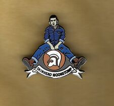 SKA BADGE SKINHEAD RUDE BOYS GIRLS MODS SCOOTERS LAMBRETTA VESPA ,, oi ska1