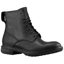 Timberland Men's EarthKeepers Tremont Lace Up Black Leather Boots Shoes