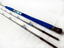 two way length adjustable Pelagic 2 Sections boat rod 25kg saltwater fishing rod