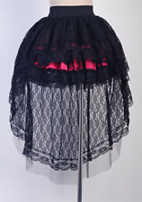 Vampire Gothic Black Lolita Mini Skirt for Punk Corset Size S-6XL  SGND A2779