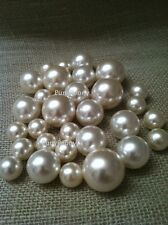Ivory Jumbo Pearls No holes (10mm, 14mm, 18mm, 24mm, 30mm) for vases/crafts