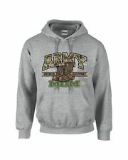 ARMY MOM Hoodie Sweatshirt Soldier Support USA Military SM To 3XL THE BEST