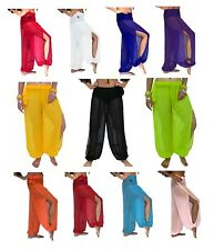 Belly Dance Harem Pants for Dancing Tribal Dancer Costume Yoga New M L XL