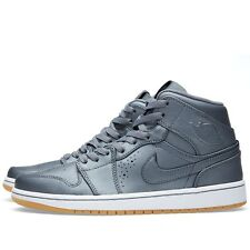 """AIR JORDAN 1 MID NOUVEAU 629151-007 """"Cool Grey"""" *NEW IN BOX* 100% AUTHENTIC"""