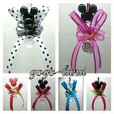 "Minnie Mouse Pacifier Necklaces for ""Don't say Baby"" Baby Shower Game Favors"