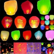 Trendy Paper Wishing lamp Wedding Flying Sky Lantern Chinese Cylindrical Lantern