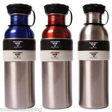 Seattle Sports H2DUO 2-Part Stainless Steel Bottle - Screw Off Upper Half
