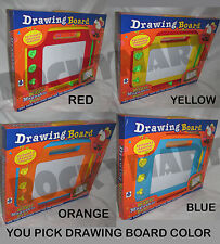 Easy Write Magic Magnetic Drawing Board w/ pen and 3 Shape Stencils RM2635
