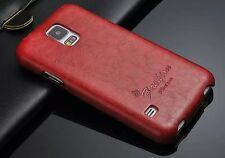 HOT Luxury Vertical Flip PU Leather Phone Case Cover For Samsung GALAXY S5(G900)