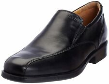 Geox Men's U Federico Q Black Leather Slip-On