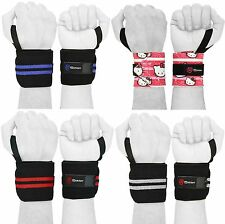 Weight Lifting Training Wrist Support Wraps GYM Fitness Bandage Straps