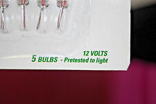 Assorted Lots & Voltage's of GE Miniature Replacement Light Bulbs (NIB) (#X859)