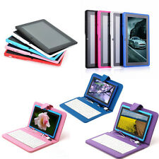 """New IRULU 7"""" A23 4G+8G Android 4.2 Tablet PC Dual Core WiFi Keyboard Q88 free"""
