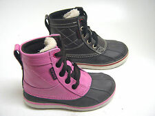 CHILDRENS SYNTEHTIC LACE UP BOOTS (CROCS ALLCAST DUCK (SAMPLES)