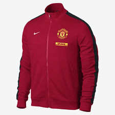 Nike Manchester United Authentic N98 Red Track Jacket DHL 542406 625