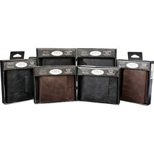 Mens Genuine Leather Wallets by True Gear choose color and style
