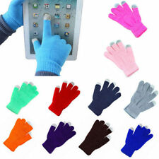 Hot Unisex Magic Touch Screen Warmer Gloves Smartphone Testing Stretch Winter