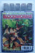 FROZEN FISH FOOD 100g, MARINE, TROPICAL, DISCUS, CORAL INVERT BLOODWORM ARTEMIA