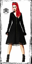 SPIN DOCTOR VICTORIAN FLORENCE BLACK CORSET DRESS JACKET COAT vintage punk goth