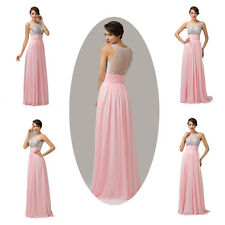 Cyber monday Sale XMAS Bridesmaid Formal Evening Prom Ball Gown Long Party Dress