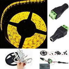 Yellow 5M 3528 Waterproof SMD New Flexible LED Light Strip 300/600 LED12V Party