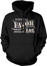 Do The World A Favor And Stop Using LOL Statement Meme Internet Hoodie Pullover