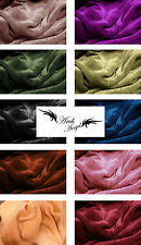 Ultra Soft Reversible 2Ply Solid Mink Blanket by Archangel 10 colors available!