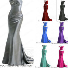 Mermaid Long Party Evening Dress Formal Bridesmaid Dress Cocktail Gown Size 6-16