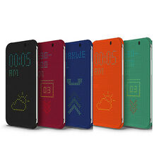 NEW Hot Dot View Retro Flip Smart Cover Case For HTC One M8 HTCONE US Stock BO01