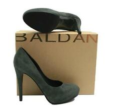 NEW! $595 BALDAN, FOREST GREEN SUEDE PUMP