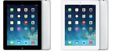 iPad 2/3/4/Air/Mini - 16GB/32GB/64GB/128GB - GSM Unlocked - Black/White Tablet