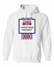 NEW WOMENS MENS KIDS BOYS GIRLS TESCO VALUE CHRISTMAS PRESENT JOKE GIFT HOODY