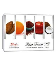 Magic Fruit facial kit Almond Orange Saffron Apple Pack Coconut 240 grams x 1Kit