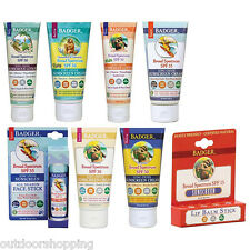 Badger Sunblock For Face & Body - Micronized Uncoated Non-Nano Zinc Oxide