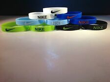NIKE Baller Band silicone Wristband Bracelet Sports Just Do it - 2 INCLUDED