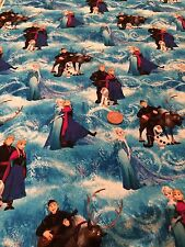 Frozen Disney - Doc McStuffin100% cotton fabric - princess sisters Elsa and Anna