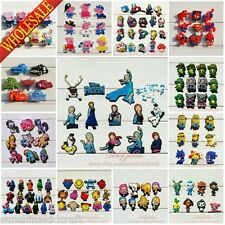 Elsa Anna/Avengers/Sofia/Big Hero SHOE CHARMS For Fit Croc & Bands Bracelet gift